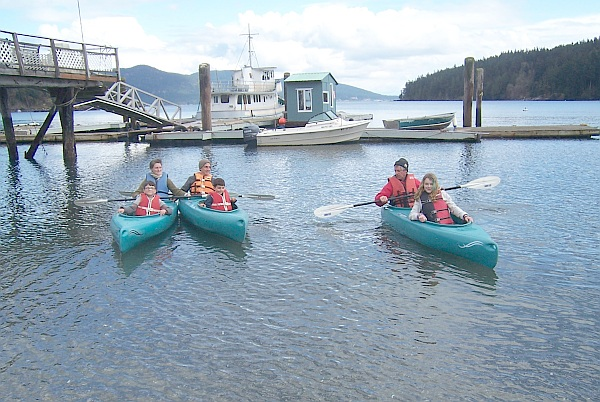 Orcas island kayaks for Fishing san juan islands